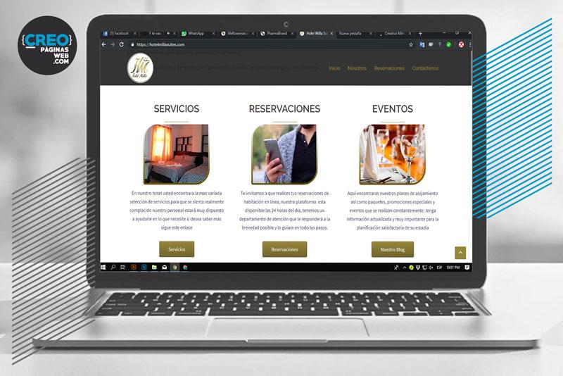 www.hotelmillasuites.com