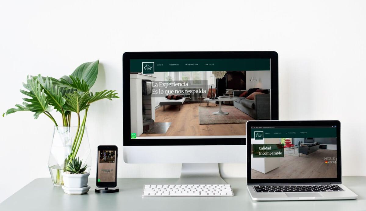 Cliente Web Entrepisos y Maderas